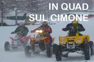In quad sul Cimone