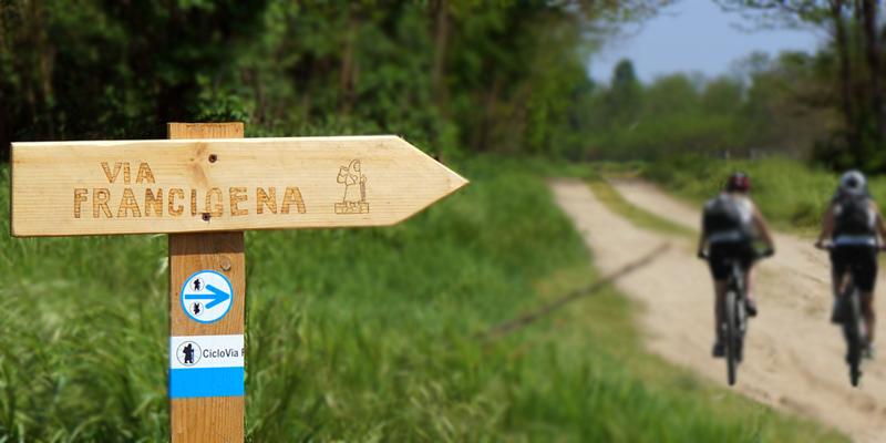 Bike Tour, eBike on the Via Francigena