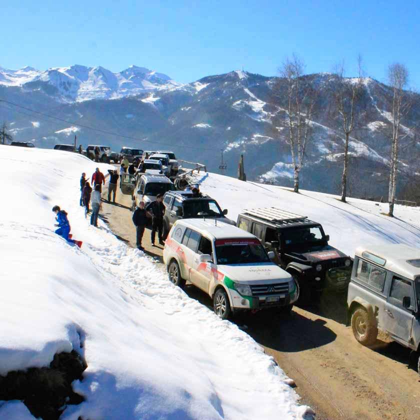 Tour 4x4 Terra e Neve del Piemonte