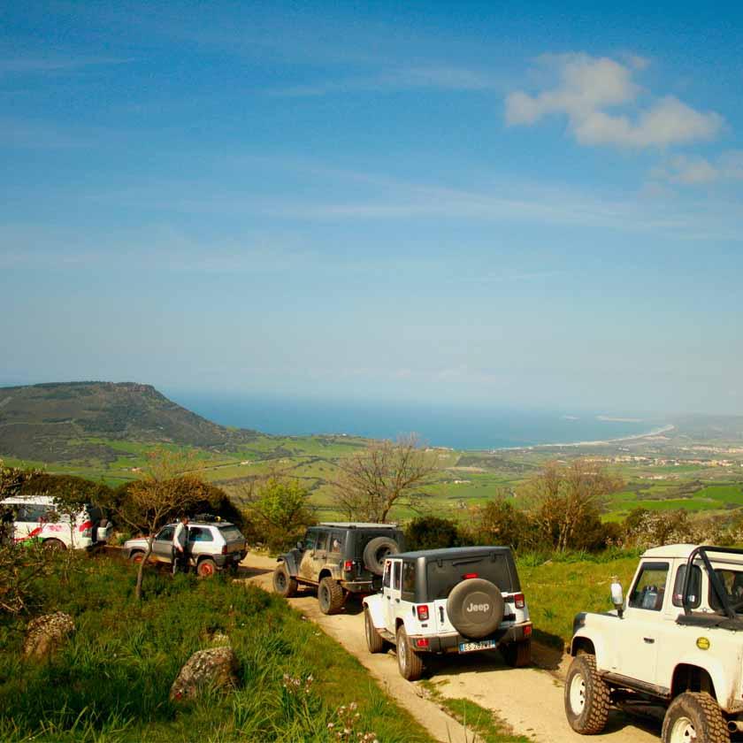 Tour 4x4 di Pasqua in Sardegna