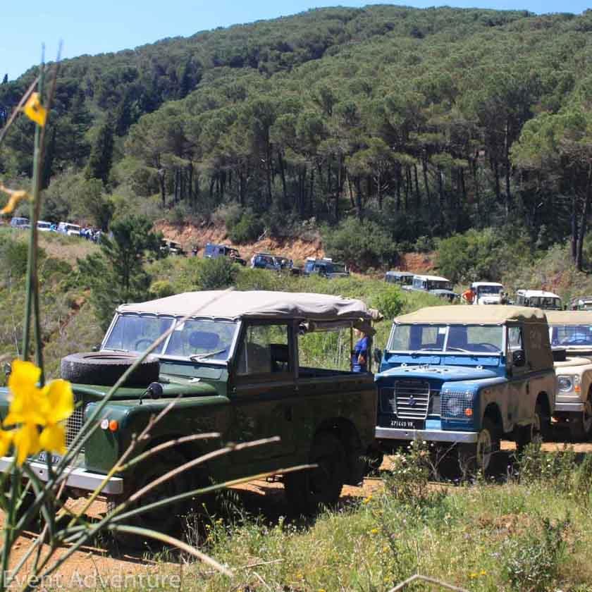 Registro Storico Land Rover Isola d'Elba