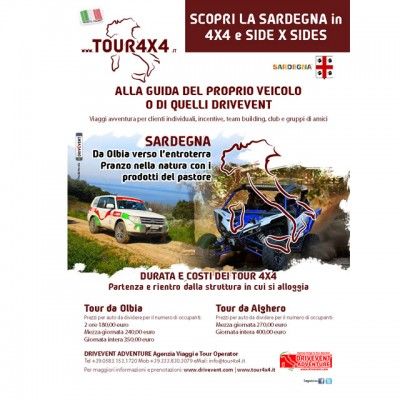 Tour 4x4 SARDEGNA Estate 2016