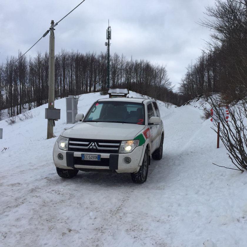 Tour4x4 sulla Neve