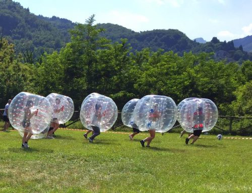 Ready to Bubble Soccer