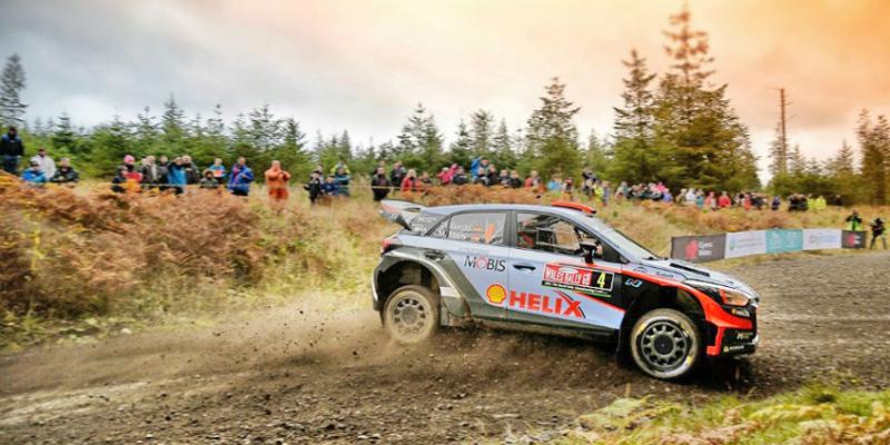 Sport Trips drivEvent Adventure WRC wales 2018