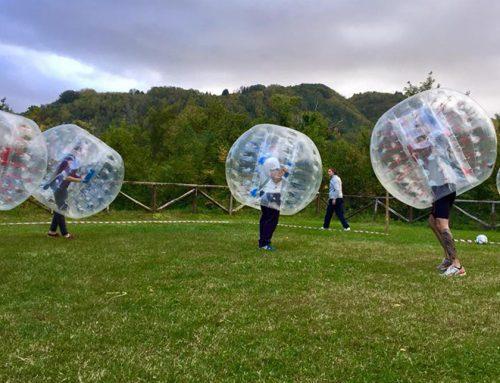 Torneo aziendale di Bubble Soccer