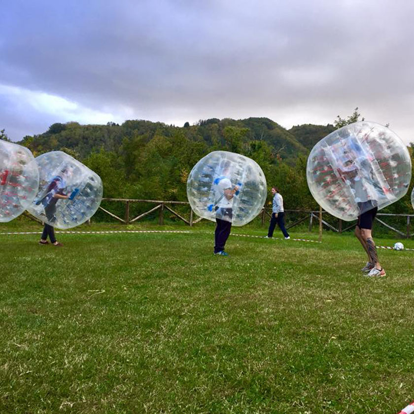 Bubble Soccer aziendale drivEvent Adventure