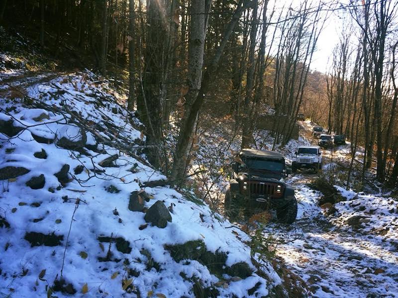 Tour4x4 drivEvent Jeep Tour
