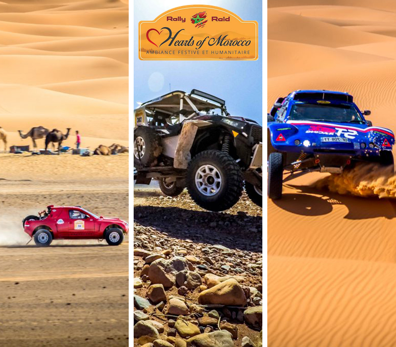 Gare e Eventi drivEvent Hearts of Morocco