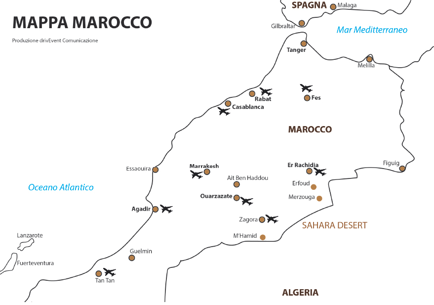Gare e Eventi drivEvent Hearts of Marocco