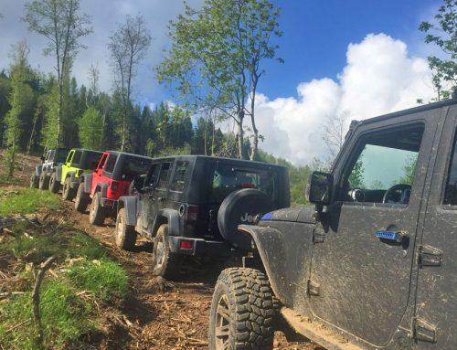 Dalla Svizzera alla Garfagnana, nuovo Tour4x4