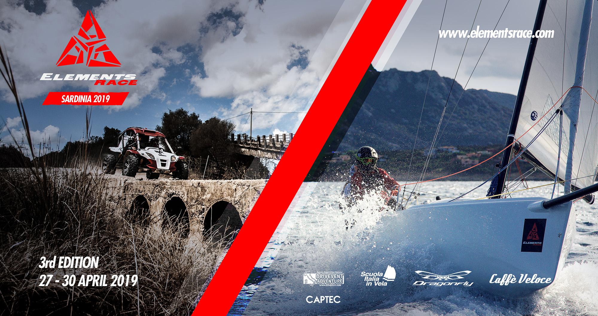 Element Race Sardegna Gara Vela e Fuoristrada