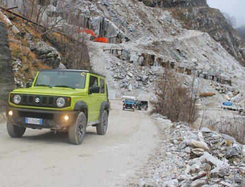 Tour Suzuki alle Cave di Vagli