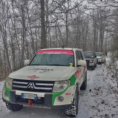 Team Building drivEvent Adventure sulla Neve