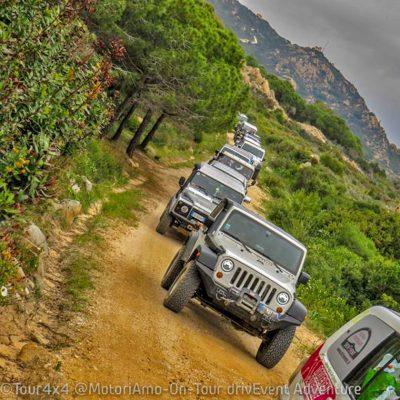 Reportage Tour4x4 di Pasqua in Sardegna