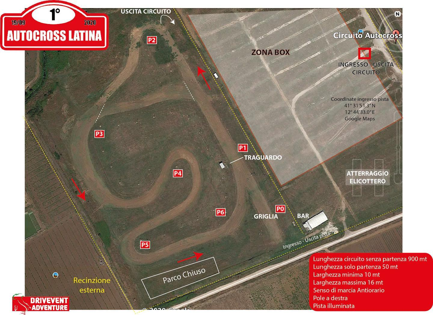 Circuito AutoCross Latina drivEvent Adventure