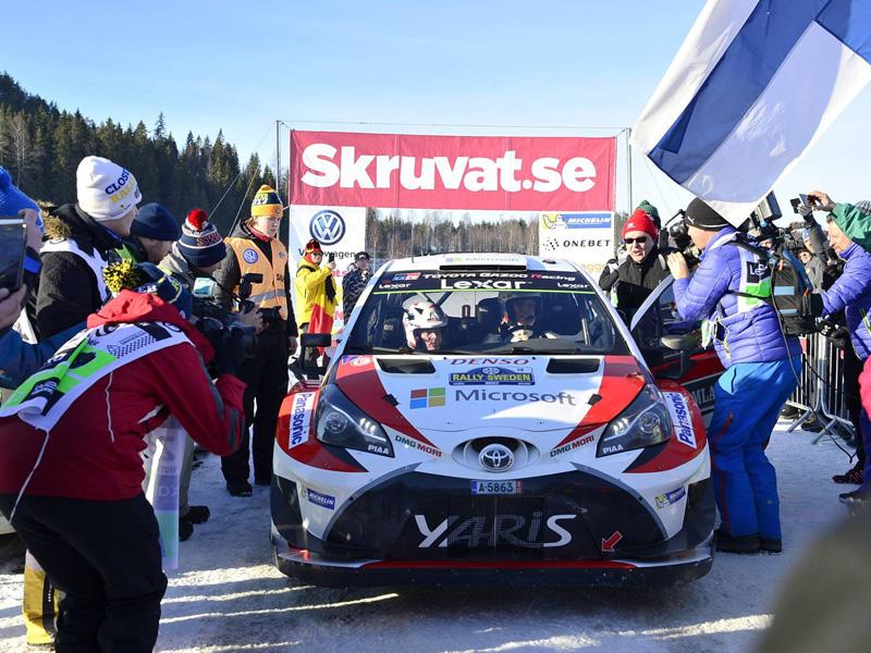 Rally WRC Sweden 800x600